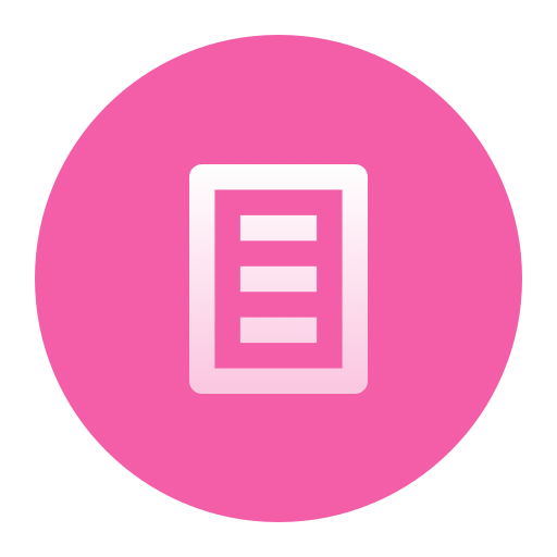 An icon of text document